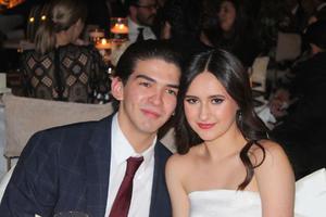 Emilio Jaidar y Astrid Acuña.