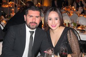 Felipe Esqueda y Sonia Rosell.