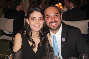 Natalia Rodriguez y Eduardo Garza.