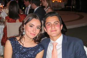 Sofia Berumen y Fernando Garza.