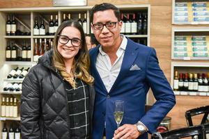 Alejandra Peña y Jesus Dena.