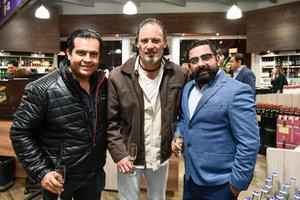 Uriel Sotero,Rodolfo Haro y Alfonso Mena.