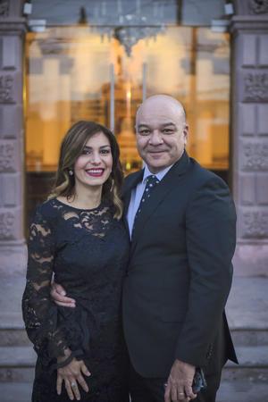 Lorena Sagarena y Javier Barba.