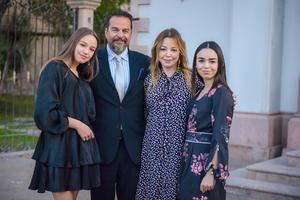 Sabrina Soler,Marc Soler,Paty Barba y Paula Soler.