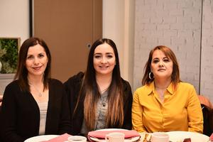 18022020 Bety Pérez, Laura Ibarra e Isela Rodríguez.