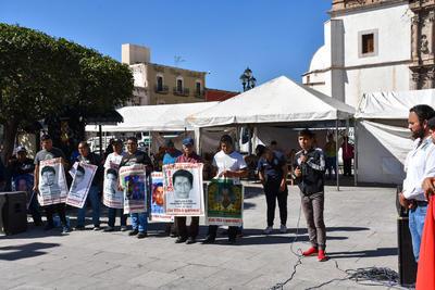 Llega a Durango caravana del caso Ayotzinapa