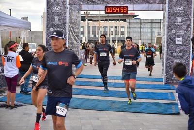 Los corredores cumplieron sus objetivos.