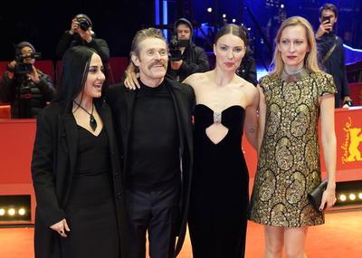 Giada Colagrande, Willem Dafoe, Christina Chiriac Ferrara y Dounia Sichov.