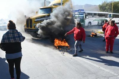 Fue apenas el lunes pasado cuando los vecinos de la colonia Lázaro Cárdenas se manifestaron en el mismo punto