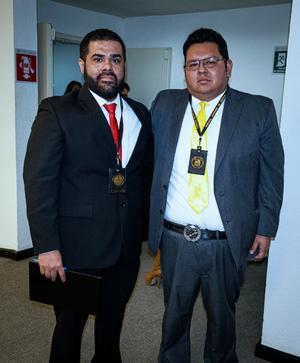 23022020 Fer y el Lic.  Francisco Emiliano Estrada Salas, Facilitador en Mediación y Conciliación del Distrito Judicial de Torreón.