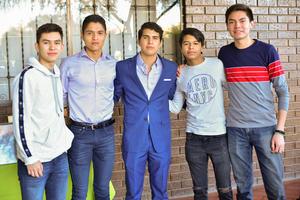 22022020 Eduardo, Pável, Rafael, Jason y Aldair.