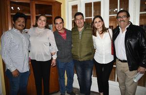 24022020 Héctor, Bárbara, Alfredo, Fermín, Cecilia y Quique