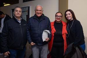 21022020 RECIENTE EVENTO.  Juan Carlos, Pbro. Antonio, Lizbeth y María.