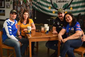 24022020 EN EL TSM.  Guillermo, Claudia, Leonor y Enrique.