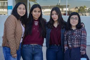 22022020 Greta, Alejandra, Sofía y Frida.