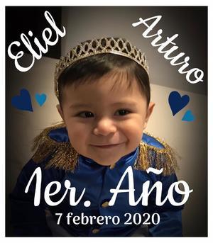 23022020 Eliel Arturo cumplió un año el pasado 7 de febrero, es hijo de Ezequiel Hoyos y Rosy Vázquez.