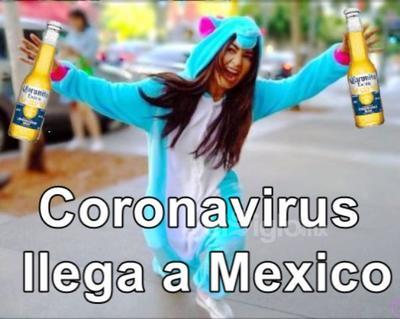 México se prepara para 'recibir' al coronavirus con memes