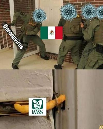 Incrementan los memes tras confirmación de casos de coronavirus en México