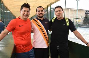 28022020 Agustín Adame, Enrique Valero y Sergio Álvarez.