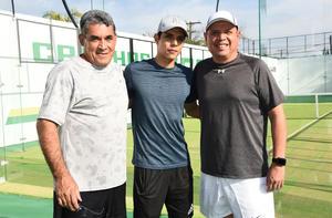 28022020 Francisco Prado, Paco Prado y Enrique Valero.