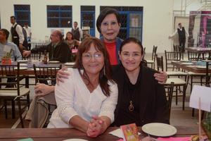 26022020 RECIENTE EVENTO SOCIAL.  Mayela Villarreal, María Luisa e Imelda Widen.
