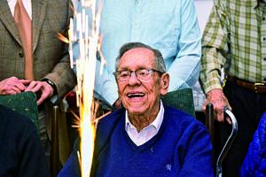 27022020 CUMPLE 88 AñOS.  Don Polo García Flores festejó un año más de vida.