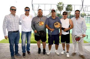 28022020 Alberto Hernández, César Bustos, Roberto Dávila, José Luis Aranda, Raúl Cornejo y Eduardo Salsamendi.