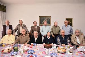 26022020 UNA VUELTA MáS AL SOL.  Don Polo García Flores celebró 88 años de vida con sus amigos de siempre.
