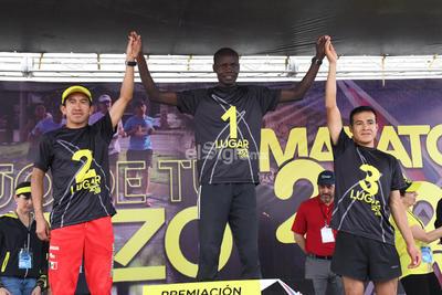 El keniano Erick Mose se adjudicó el primer lugar del Maratón Internacional Lala 2020, con un tiempo de 2 horas 19 minutos y 21 segundos.