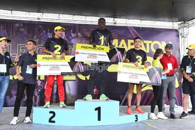 Premiación a ganadores del Maratón Internacional Lala 2020