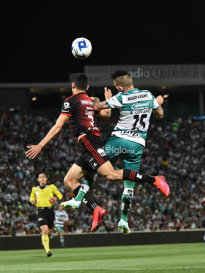 SANTOS LAG VS ATLAS     Santos Laguna vs Atlas de Guadalajara Liga MX jornada 8 Santos 1 Atlas 0 segundo tiempo