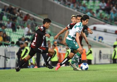 SANTOS LAG VS ATLAS     Santos Laguna vs Atlas de Guadalajara Liga MX jornada 8