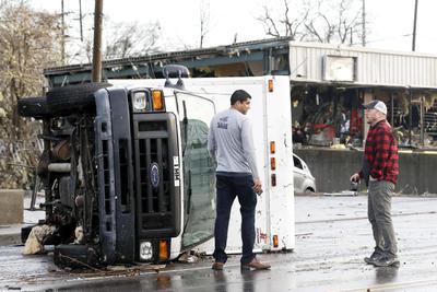 Los tornados ocurrieron en Tennessee.