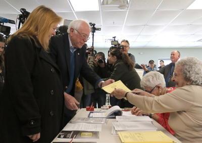 Se presenta como favorito el senador Bernie Sanders.