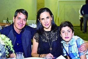Daniel,Barbara y Nicolas.