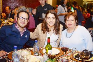 Luis, Nuri y Angelina