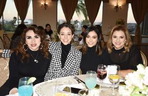 Oralia Pérez, Susu Luna, Niñita Luna, Olga Pérez