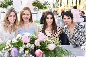 Fernanda Barjas,Carola Gutierrez,Nicole Bello y Clarisa Saldaña.