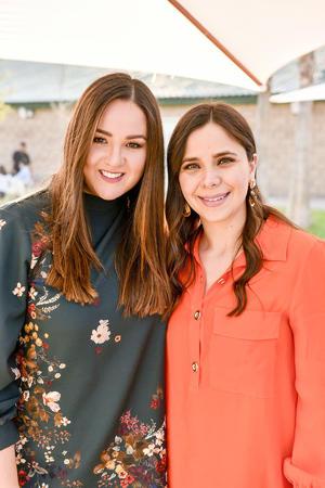 Marcela Lopez y Katia Nahle.