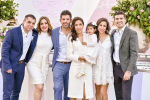 Padrinos  Eliud Bollain y Goytia,Catalina Davila,Claudia Peña y Mario Necochea.