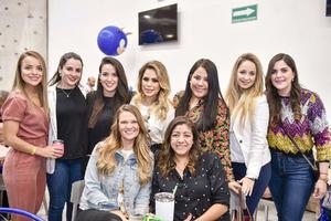 Grecia,Samantha,Karen,Kim,Maryfer,Isabel,Valeria,Barbie y Dulce.