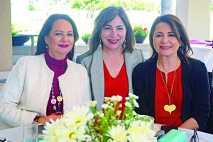 Maria Alicia, Marcela y Alejandra