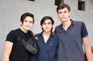 Alfredo, Luis, Iván