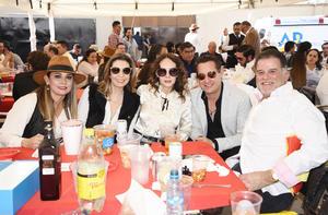 Guillermo Chapa, Arturo Gilio, Liliana Quintero, Katy Ruiz, Ana Luisa López