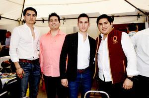 osé Niño, Jesús Niño, David Ramos y Juan Ibarra