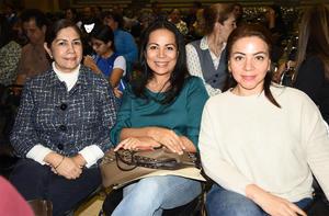 02032020 Ernestina Alatorre, Roma Guerrero y Silvia Sabag.