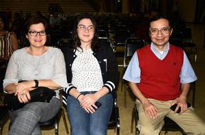 02032020 Mariela Rocha, Angélica Casas y Lidia Cervantes.