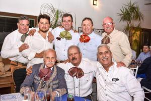 01032020 UN AñO MáS DE VIDA.  Fernando Abusaid celebró su cumpleaños con todos sus amigos.