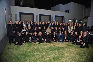29022020 UN AñO MáS DE VIDA.  Sandra Romero disfrutó de la compañía de sus amigas en la celebración que fue ofrecida en su honor.