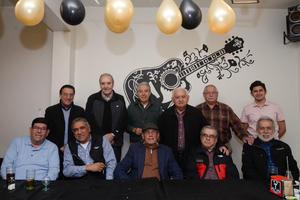 01032020 UN AñO MáS DE VIDA  Jorge Rivera se encuentra recibiendo múltiples felicitaciones y regalos por su cumpleaños el que se celebra hoy.
